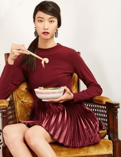 Explore high fashion dresses at Pixie Market. Get short and long-sleeve styes in casual, midi, maxi, and mini designs from the Pixie Market dress collection. Pixie, Street Style 2016, High Fashion Dresses, Dress Collection, Fit And Flare, Cute Dresses, New Fashion, New Dress, Burgundy