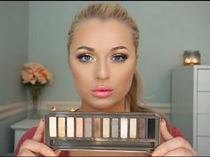 Urban Decay Naked 2 Palette | Bronzey Gold Tutorial - YouTube