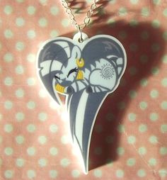 Zecora My Little Pony Friendship is Magic sleeping heart pony necklace MLP