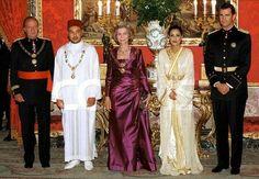 King Mohamed 6 et le Roi d'Espagne