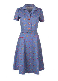 Totally my style, a vintage looking shirt dress  =)