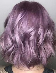 Perfect Hair Color, Pretty Hair Color, Hair Color Purple, Hair Dye Colors, Cute Hair Colors, Hair Color Ideas, Silver Purple Hair, Silver Lavender Hair, Hair Ideas