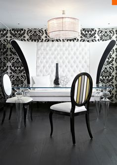 Diseño de Interiores con Glamour por Anna Dodonova