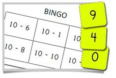 A simple Bonds to 10 Bingo Game - 20 different Bingo Cards and calling cards for young children. Simple, but very practical. Number Sense Activities, Numeracy Activities, Math Games, Math Addition, Addition And Subtraction, Teaching Math, Teaching Ideas, Number Bonds To 10, Math Bingo