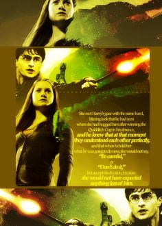 Strong, female role models and a healthy relationship! Ginny is a boss!!!
