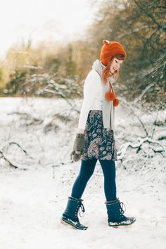 The Clothes Horse: Outfit: Do You Want To Build A Snowman?