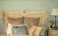 Swirl Heart from www.beautifulwalldecals.com.  This simple, cute heart design is perfect over the bed, by the mirror, or anywhere else in the home!  Find yours today at www.beautifulwalldecals.com