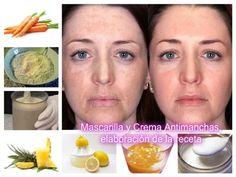 Mascarilla y Crema Antimanchas | Canal Salud y Belleza Natural