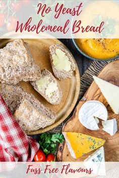 This delicious wholemeal self raising flour bread recipe uses just four ingredients for a delicious brown no yeast loaf. It's easy to make and can be ready in 45 minutes. You'll never run out of bread again! | How to make bread| emergency bread| easy bread recipe| #bread #baking No Yeast Bread, Yeast Bread Recipes, Self Raising Flour Bread, Homemade Butter, Soda Bread, Easy Bread, Baking Flour, Recipe Please, How To Make Bread