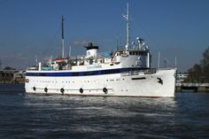 old time cruise ship | From The Great Lakes To The Baltic Sea: The BRAHE (ex-USS PCE 830, HMS ...