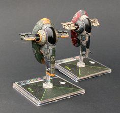 Repainted X-Wing Minis
