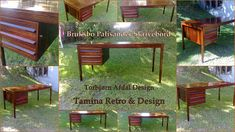ReTro ToM Tom's Furniture World TOMANIA Vintage Furniture, Furniture Design, Retro Design, Scandinavian Design, Furniture Making, Pergola, Toms, Outdoor Structures, Writing Desk