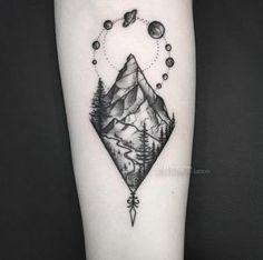 Image result for mountain tattoo ideas
