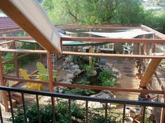 """I never DREAMED of anything this elaborate for my kitties... But how WOW is this """"catio""""!??!"""