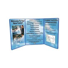 Dynamo Trifecta™ Tabletop Display | Health Promotions Now