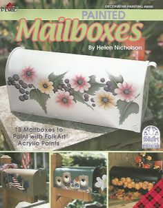 Painted Mailboxes - Helen Nicholson