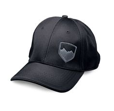 The TeraFlex pro style stretch fit cap is constructed from performance wicking 98% polyester / 2% spandex with structured front panels. The spandex provides a custom fit feel and adjusts for most head sizes. Black cap color with silver TeraFlex logo.