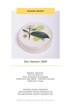 www.jeanne-koepp-keramik.de /Kunsthandwerk / Keramik / Handmade Chart, Studio, Arts And Crafts, Studios