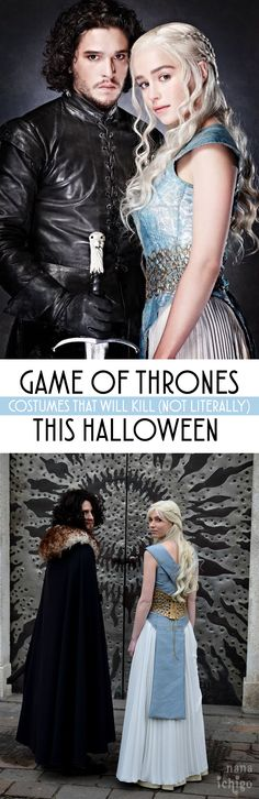 Game of Thrones wont be back until 2019... but that doesn't mean you can't bring it back for Halloween this year!!! Check out these 20 killer costumes you need to see before you make any GoT related costume decisions!