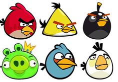 These Angry Birds paper plates are such a fun craft for kids to make!