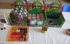 Lego Ninjago 6th Birthday Party | CatchMyParty.com