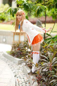 Mirai Suenaga cosplay by Alodia Gosiengfiao #Alodia Gosiengfiao #cosplay