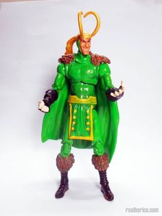 Classic Loki (Marvel Universe) Custom Action Figure