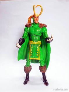 Classic Loki (Marvel Universe) Custom Action Figure