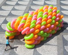 LIKEarchitects inflates playLAND pavilions in portugal with beach tubes