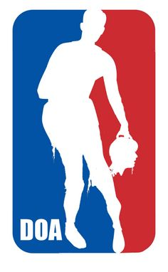 Zombie NBA Logo...I am assuming you would pay the players with brains.