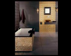 I love the contrast. More >>> http://bathroom-designideas.com/bathroom-tile-design-ideas/