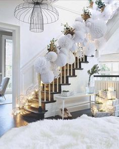 Here are best White Christmas Decor ideas. From White Christmas Tree decor to Table top trees to Alternative trees to Christmas home decor in White & Silver Christmas Interiors, Christmas Room, Noel Christmas, Winter Christmas, Christmas Crafts, Skinny Christmas Tree, Christmas Ideas, Flocked Christmas Trees, Christmas Tree Decorations