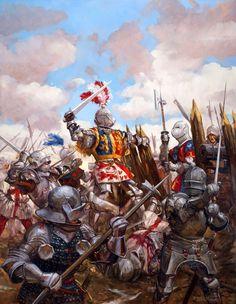 Nueva lámina sobre la batalla de Castillon, por cortesía de Hugo Pinson. Más en www.elgrancapitan.org/foro