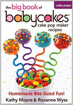 Babycakes Cake Pop Maker Recipes  The big book of Cake Pop Maker Recipes -- More info could be found at the image url. (Amazon affiliate link)