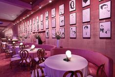 Academy of Motion Picture Arts and Sciences' Governors Ball: The look for this year's Governors Ball was influenced by the caricature-decked walls of Sardi's and Brown Derby restaurants. Decor included more than 170 commissioned pieces showcasing present-day and historic Hollywood icons rendered in black and white drawings, which were displayed gallery style.