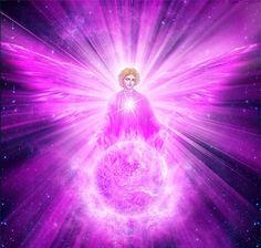 Germaine and the violet flame of transmutation and forgiveness Archangel Zadkiel, Archangel Raphael, Transmutation, I Believe In Angels, Twin Souls, Ascended Masters, Angels Among Us, Crown Chakra, Saint Germain