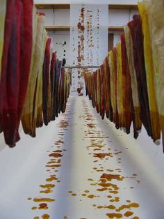 Shelley Socolofsky- interested in the concept of textiles and textile production