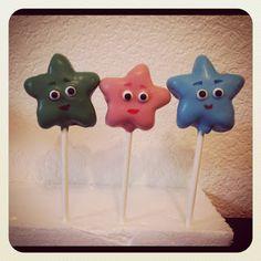 vypassetti cake pops: Dora & Friends - Stars