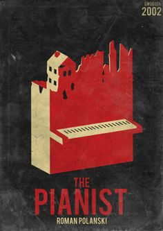 The Pianist by Polanski - movie poster