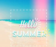 Hello Summer summer june hello summer hello june june quotes june is here First Day Of Summer, Summer Is Here, Hello Summer, Summer Of Love, Summer Fun, Happy Summer Quotes, Winter Words, Hello June, Summer Backgrounds