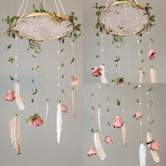 Timestamps DIY night light DIY colorful garland Cool epoxy resin projects Creative and easy crafts Plastic straw reusing ------. Diy Crafts To Sell, Home Crafts, Diy Bedroom Decor, Diy Home Decor, Nursery Decor, Feather Crafts, Diy Décoration, Paper Flowers, Craft Projects
