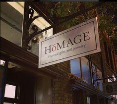 Hömage (Pasadena, CA). No justification for the umlaut other than garnish.