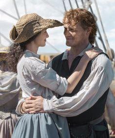 Tumblr James Fraser Outlander, Outlander Season 3, Sam And Cat, Don T Go, Love Scenes, Jamie And Claire, Caitriona Balfe, Jamie Fraser, Sam Heughan
