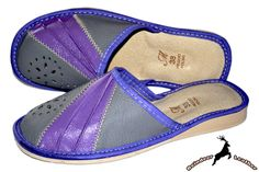 Sofie Purple Slide Slipper