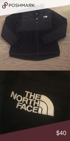 Black North Face Black North Face fleece gently used North Face Jackets & Coats