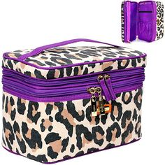 Leopard Train Case!