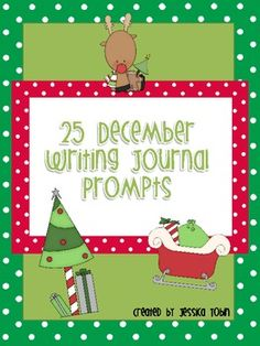25 december writing journal prompts