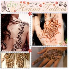 """DIY- Henna Tattoos (no kit needed)"" by polyvore-tip-lovies on Polyvore"