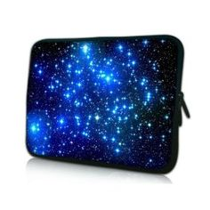 The Universe With Twinkling Blue #Stars !