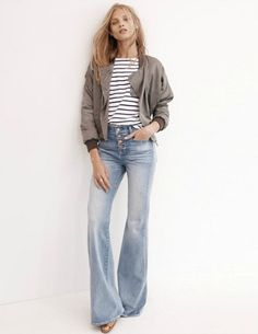 Madewell's Spring 2015 lookbook. Look #1